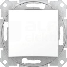 SEDNA biały Łącznik 1-biegunowy
