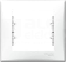 SEDNA biały Ramka 1-krotna