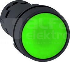 XB7NA31 1NO zielony Przycisk samopowr.