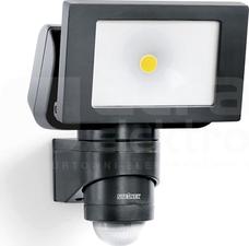 LS 150 LED 20,5W 4000K 1760lm IP44 czarny Naświetlacz LED z czuj.ruchu i zmierzchu