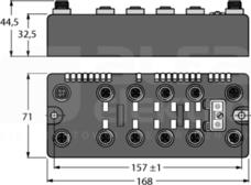BLCEN-8M12LT-4AI-VI-8XSG-P Stacja sieciowa
