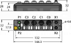 TBEN-S2-4IOL Moduł I/O sieci ETHERNET