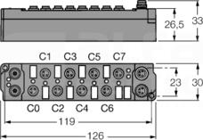 SNNE-0800D-0008 Moduł rozszerzeń