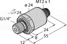 PT0.25R-1004-I2-H1143 Czujnik ciśnienia