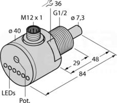FCS-GL1/2A4-AP8X-H1141 Czujnik przepływu