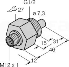 FCS-G1/2A4-NAEX-H1141 Czujnik przepływu