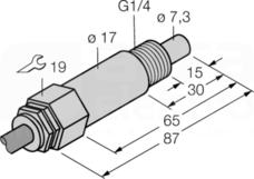 FCS-G1/4A4-NAEX0/L065 Czujnik przepływu