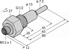 FCS-G1/2A4-NAEX0-H1141/L065 Czujnik przepływu