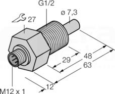FCS-GL1/2A4-NA-H1141 Czujnik przepływu