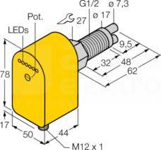 FCS-GL1/2A2P-AP8X-H1141/A Czujnik przepływu