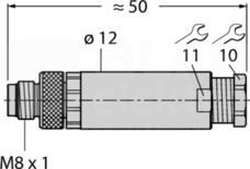 BS5133-0 Złącze męskie proste specjalne
