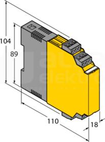 IM12-22EX-R/230VAC Separator sygnałów binarnych