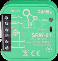 SRW-01 Sterownik rolet Wi-Fi