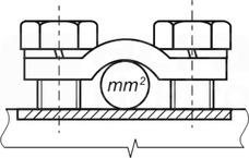 RBK 3 PRO (S) 50-185mm2 Zacisk mostkowy
