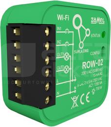 ROW-02 Odbiornik WIFI dopuszkowy 2-kan.