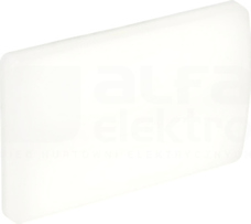 PORTAL LED HV 6W/840 440lm IP54 biał.mat Oprawa LED