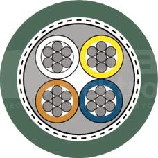 ETHERLINE Y FLEX 2x2xAWG22/7 Przewód komunikacji BUS kat.5