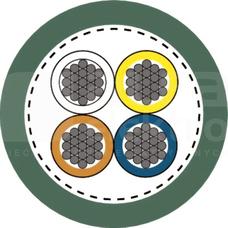 ETHERLINE TORSION 2x2xAWG22 Przewód komunikacji BUS kat.5