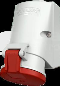 Gniazdo 32A 5P 6h 400V IP44 natynkowe 2-częśc.zac.bezśrub.