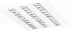 QUASET 47W/840 3x PAR-S 4900lm IP20 Oprawa LED podtynkowa 600x600
