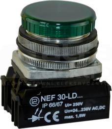 NEF30-LDz 24-230V ziel Lampka sygnalizac.diodowa