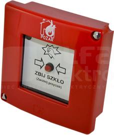 ROP-AD0K XY Ręczny ostrzegacz pożarowy