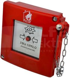 ROP-AM2K XY Ręczny ostrzegacz pożarowy