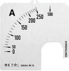 SCL-A1-100/96 Skala do amperomierza