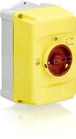 IB132-Y czerwony/żółty Obudowa wyłącznika
