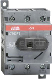 OT63F3 3P 63A Rozłącznik bez wałka i rącz.