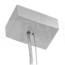 Zawieszenie elektryczne szary Akcesoria montażowe