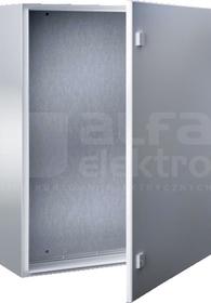 AE 500x500x210 RAL7035 Szafa z płytą montażową