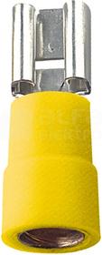 MSE 6,3/6 Sn (100szt) Nasuwka izolowana cynowana