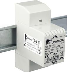 PSS 10VA 230/24V na szynę Transformator w obudowie