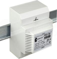 PSS 50VA 230/24V na szynę Transformator w obudowie