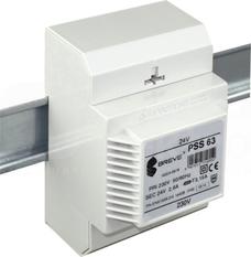 PSS 63VA 230/24V na szynę Transformator w obudowie