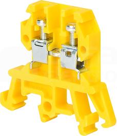 ZUG-G4 żółty Złączka 1-torowa