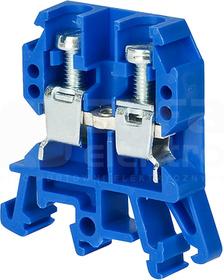 ZUG-G10 niebieski Złączka 1-torowa