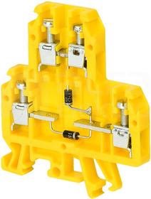 ZUG-G/22/E6 600V szary Złączka 1-torowa diodowa