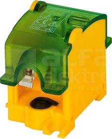 OBL 25/16-1 żółto-zielony Odgałęźnik instalacyjny