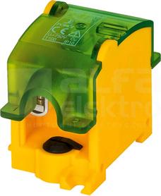 OBL 35/25-1 żółto-zielony Odgałęźnik instalacyjny