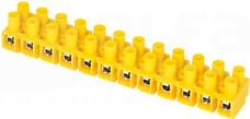 TLZ-10N/12 żółty Złączka 12-torowa