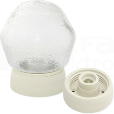 WOS-100 E27 IP20 podstawa Oprawa porcelanowa prosta