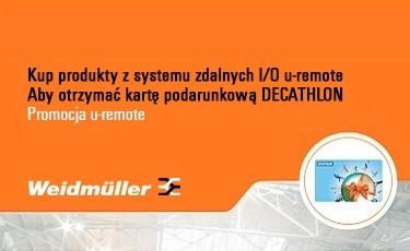 Weidmüller - Promocja u-remote