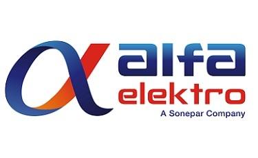 Nowe logo Alfa Elektro