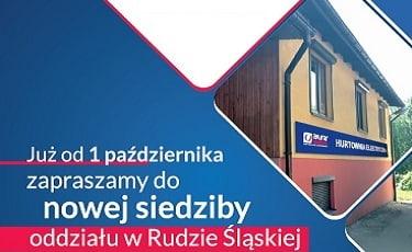 Nowa lokalizacja oddziału w Rudzie Śląskiej