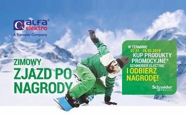 Schneider Electric - Zimowy zjazd po nagrody